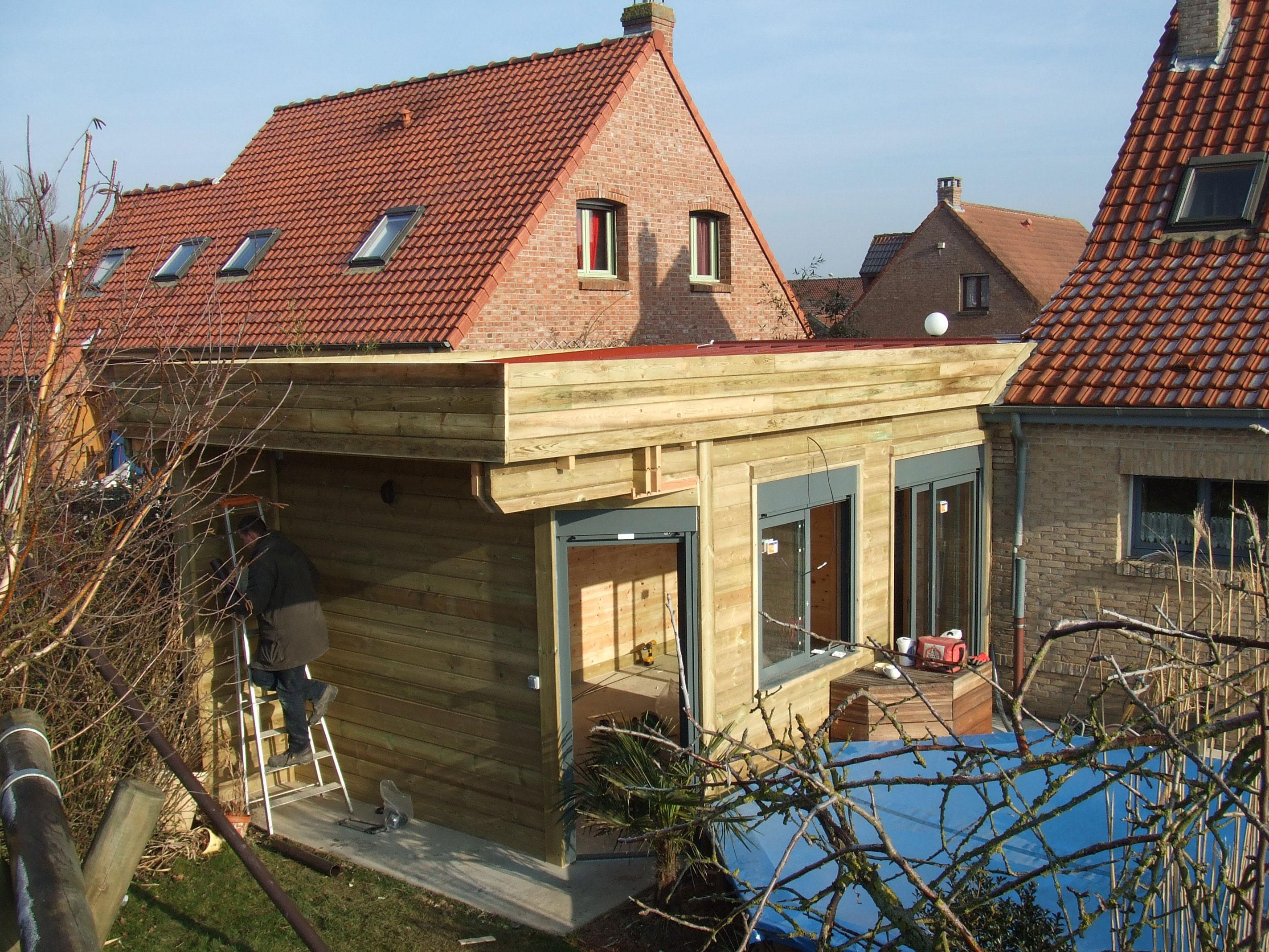 extension madrier extension madrier - Logiciel Agrandissement Maison